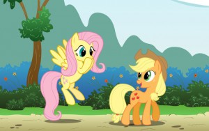 fluttershy-and-applejack