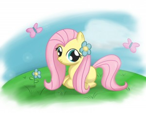 fluttershy-filly
