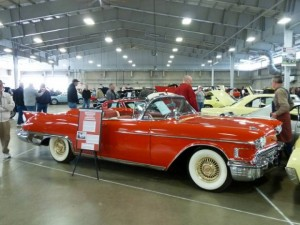 Кадиллак 1958 red cadillac convertible 4