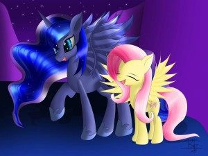 Luna and Flutty