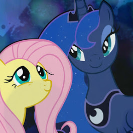 Princess Luna and Fluttershy