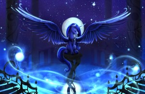 Princess Luna in the Night