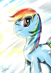 Awesome Rainbow Dash